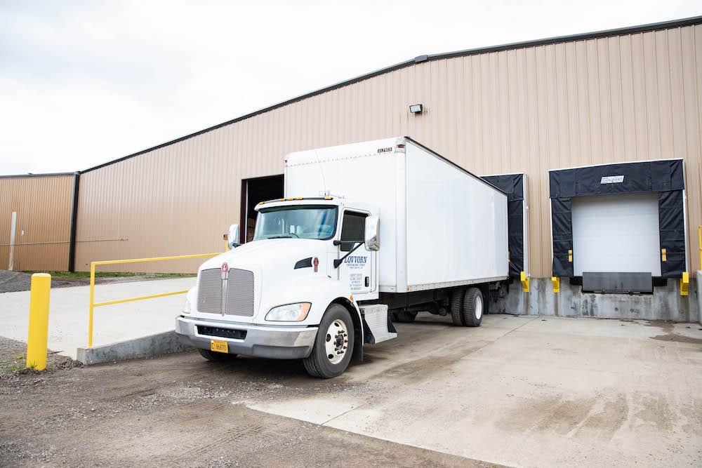 White Lovvorn Truck